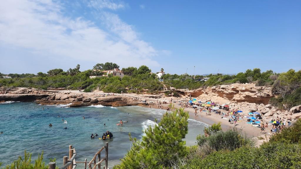 Cala Vidre, camino de ronda Ametlla de Mar